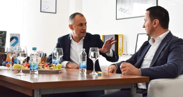 Gradonačelnik Trebinja Mirko Ćurić posjetio našu kompaniju